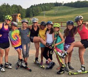 Go Girls Outdoors participants at Dewey Mountain