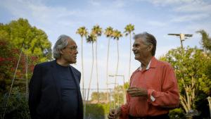 Klein (L) w Fred Willard fr Robert Klein