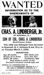 1B LindberghBabyPoster