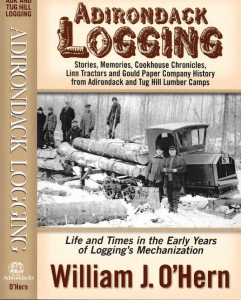 adirondack logging book cover