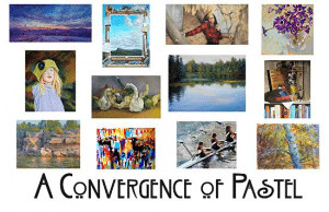 A Convergence of Pastel - postcard George Van Hook