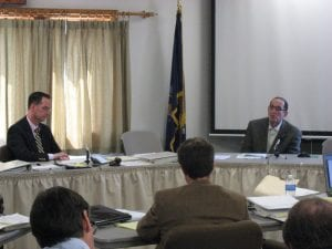 A scene from the APA's hearing on ACR. Photo by Dave Gibson, Adirondack Wild