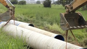 Sewer Pipes (courtesy NYS Governor's Office)