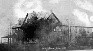 The 1902 Beaver River Clubhouse that replaced Dunbar's