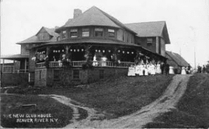 The 1908 Clubhouse that replaced the 1902 Clubhouse that burned
