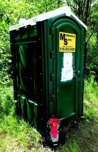 The Ausable River Association has installed privies at busy trailheads by Phil Brown