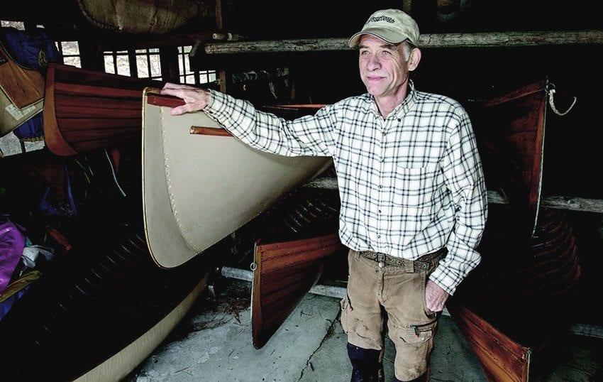 Boat-builder Jim Cameron