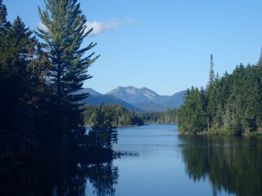 Photo by Phil Brown 2016. View of Gothics from Boreas Ponds.