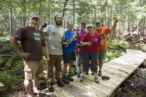 Northern Forest Canoe Trail volunteers improve Indian Carry