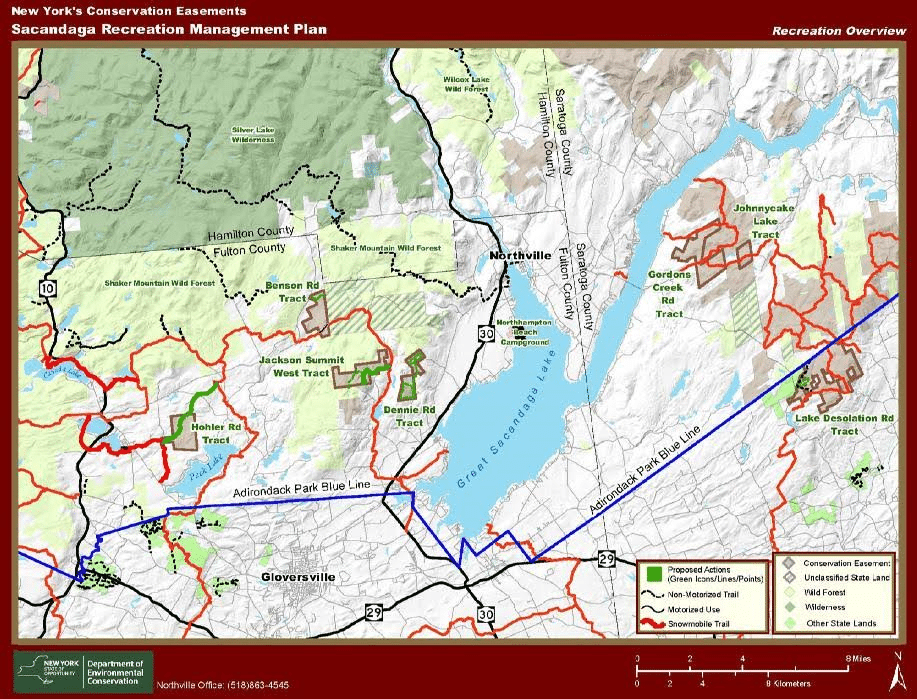 sacandaga recreation management plan