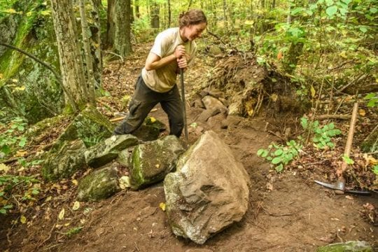 Adirondack Mountain Club maintains trails