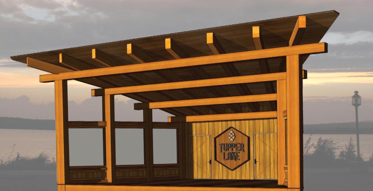 tupper lake bandshell