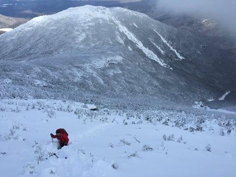 High Peaks in Winter (DEC Photo)