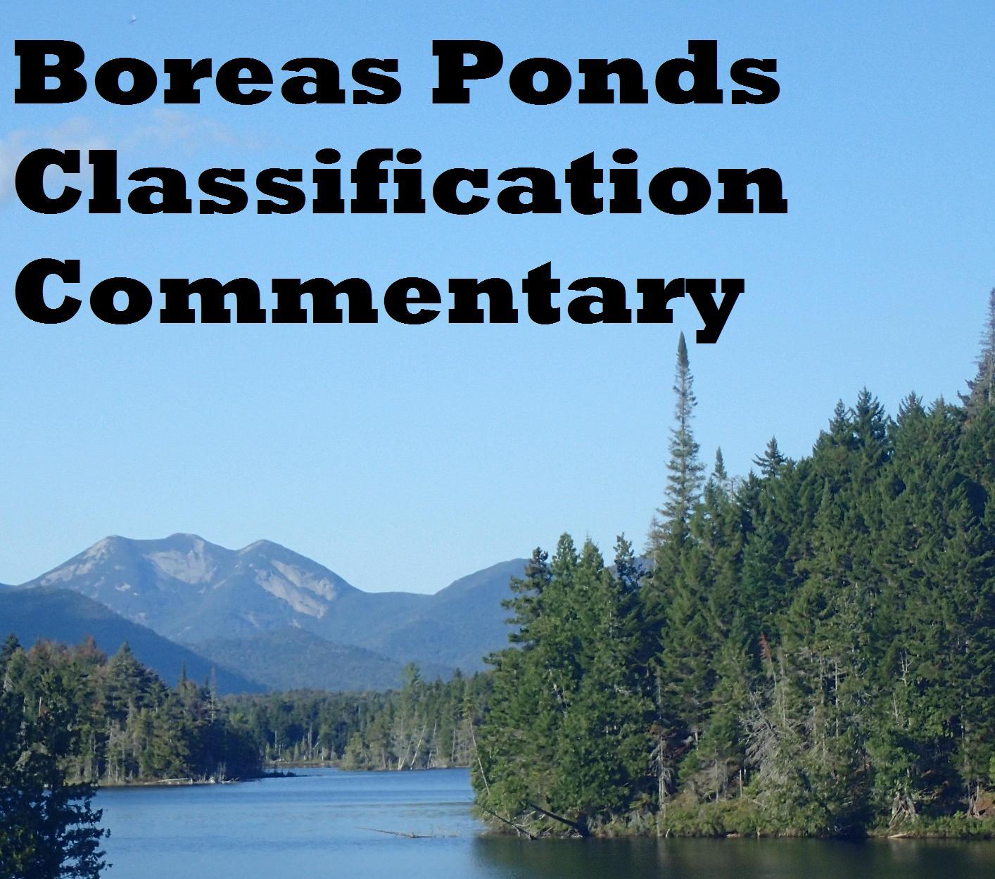 Boreas Ponds Classification