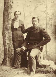 Richard and Alzina Crego (c.1880)