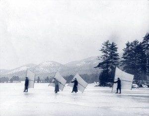 skate sailors on lake george