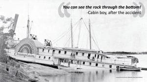 the wreck of champlain iii