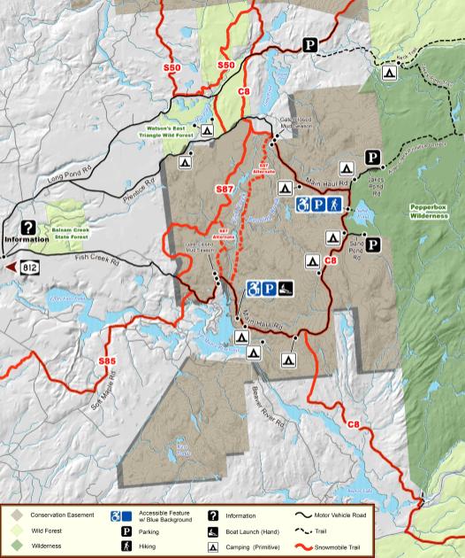 crogan tract map
