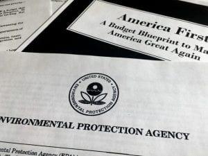 EPA and Trump Budget