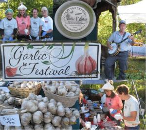 Garlic Festival at the Warrensburgh Riverfront Farmers' Market
