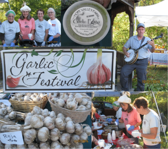 Garlic Festival at the Warrensburgh Riverfront Farmers' Market