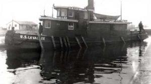 Steam tug U.S. La Vallee