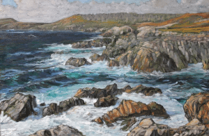 wild cove II painting