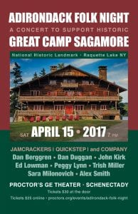 Great Camp Sagamore music