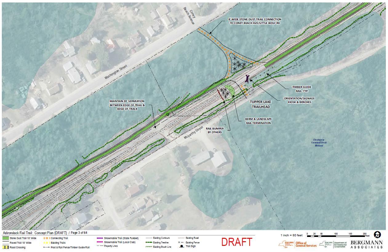 DEC Releases Draft Adirondack Rail Trail Plan - - The Adirondack