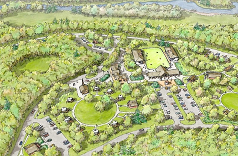 North Hudson Frontier Town Adirondack Gateway Vision Drawing
