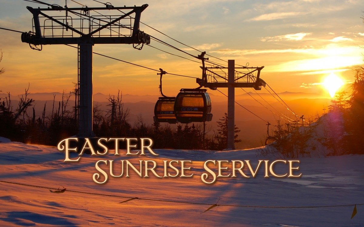 Adirondack Easter Sunrise Services