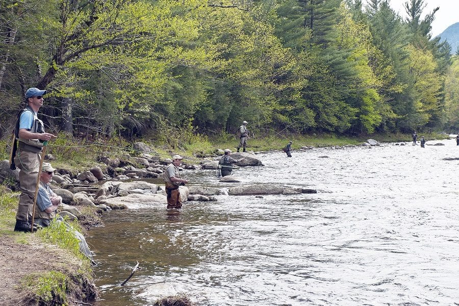 AuSable River Two Fly Challenge