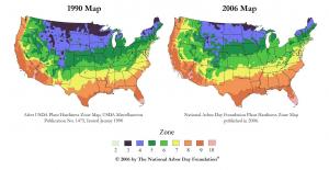 Climate Change Hardiness Gardening Zones