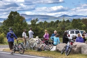 Bike the Barns event, September 2016