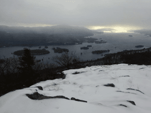 Lake George from French Point Mountain