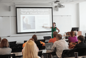 Storytelling, Marketing, and Millennial Engagement workshop