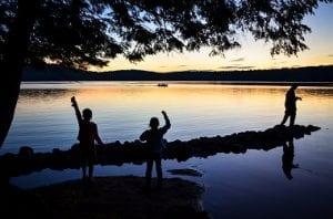 DEC photo of Lake Eaton Campground
