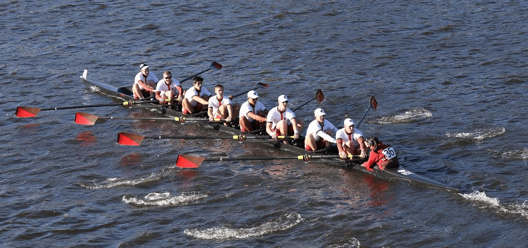 St. Lawrence rowing team
