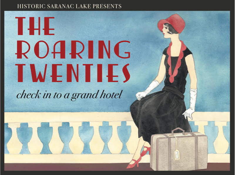 saranac lake roaring twenties poster