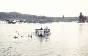 TAUNY Exhibit on Raquette River