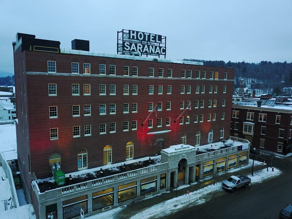Hotel saranac listed among historic hotels of america for Oldest hotels in america