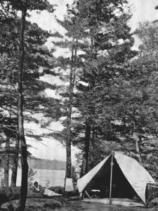 Lake George Tent Platform 1920