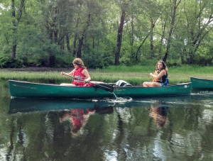 Northern Forest Explorers paddle the Raquette River