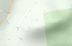 Owls Head Trail Map courtesy Adirondack Atlas