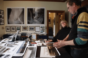 Printmaking at Bluseed Studio