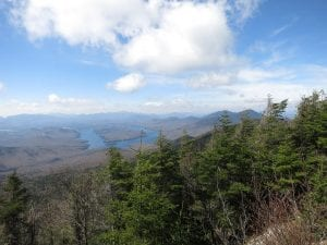 View from Whiteface (Courtesy ASRC Whiteface Mountain)