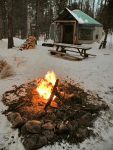 adirondack yurt