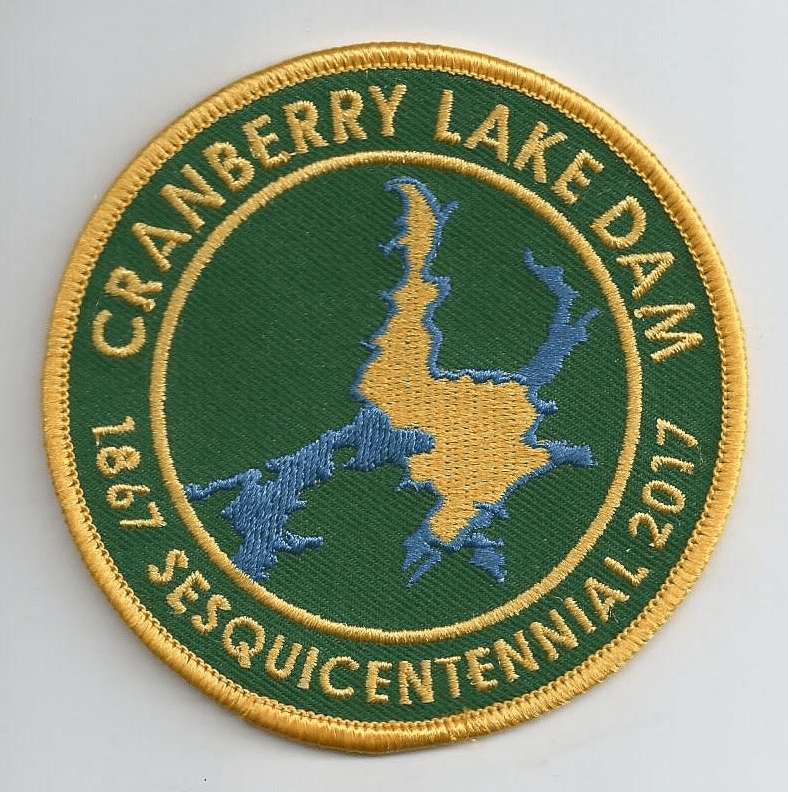 cranberry lake dam Sesquicentennial patch