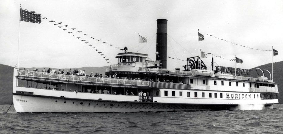 Horicon on Lake George (courtesy Lake George Steamboat Company)