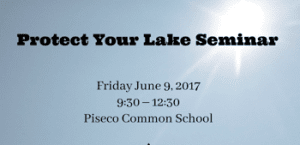 protect your lake seminar